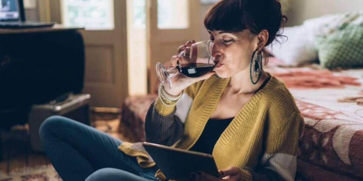 Las mujeres que beben vino son almas viejas con gran sabiduría