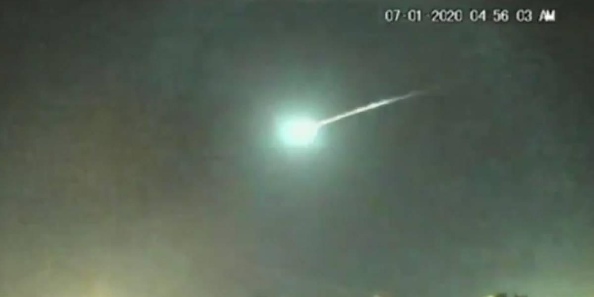 Impresionante video: un meteoro irrumpe en los cielos de Puerto Rico
