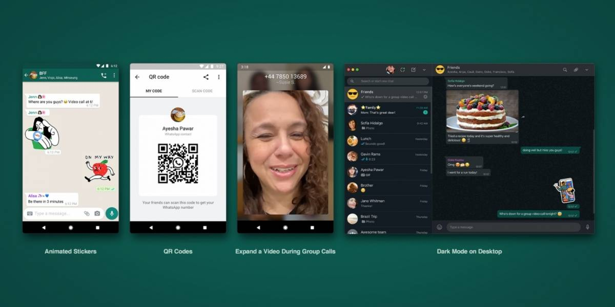 Quatro novos recursos que serão liberados pelo WhatsApp nos próximos dias