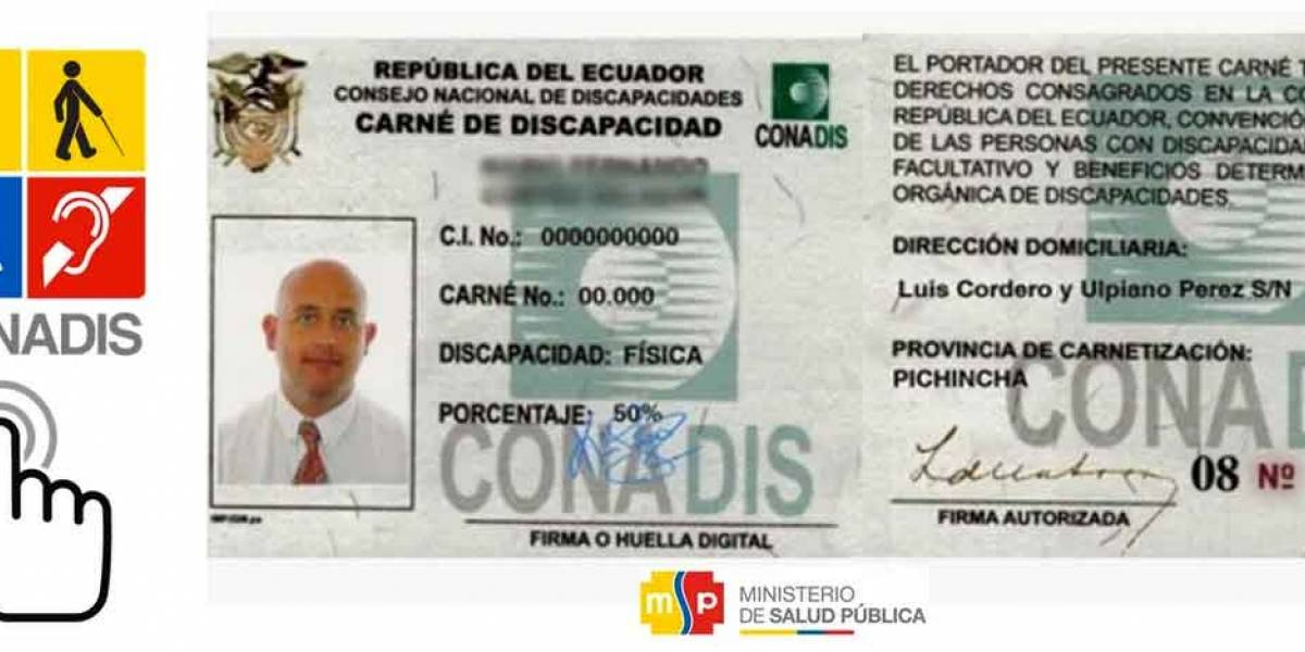 Conadis se pronuncia tras denuncias de supuesta entrega irregular de carnés