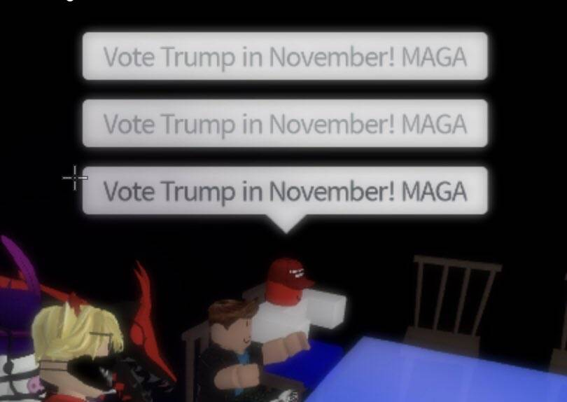 Roblox Hackers Donald Trump
