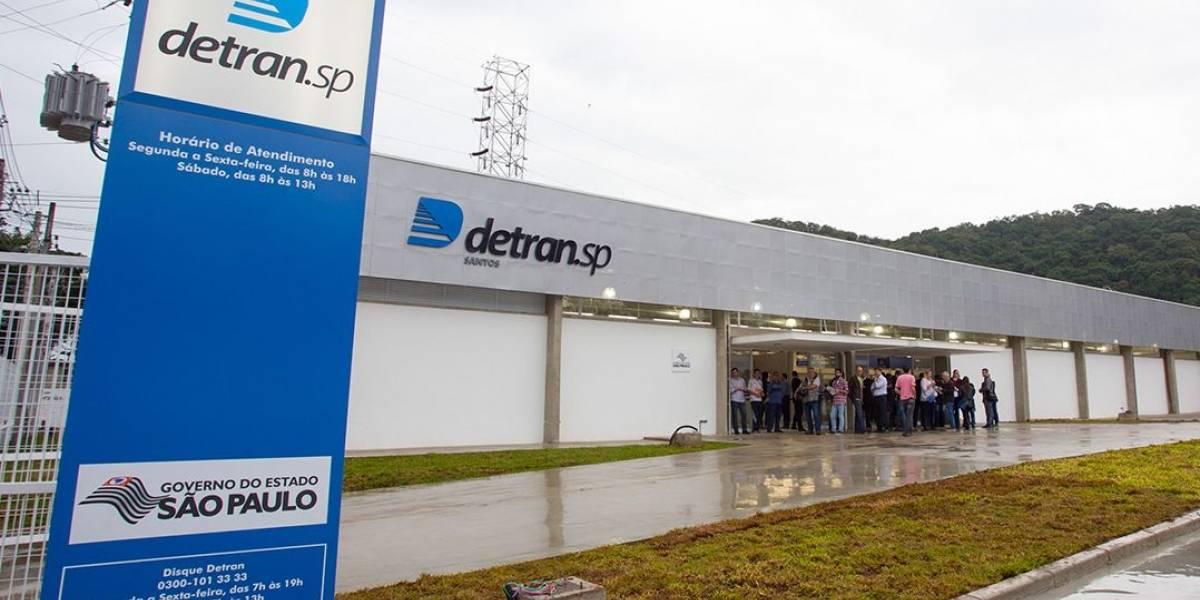 Detran-SP cria drive thru para entregar registros de veículos retidos