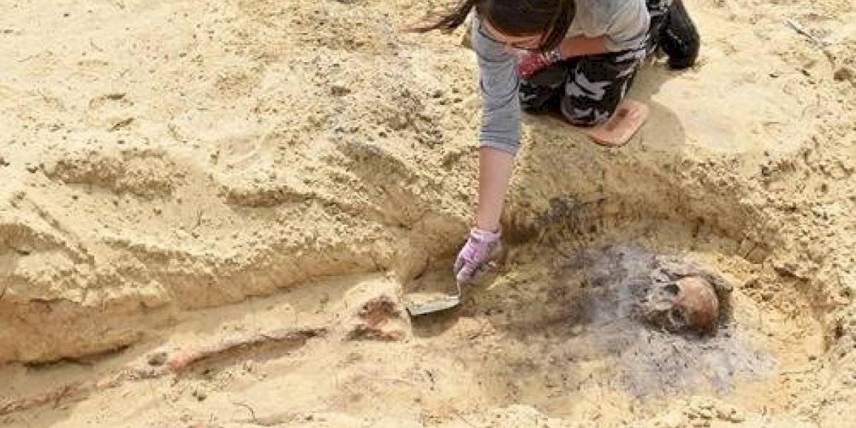 Impactante hallazgo: 115 cadáveres de niños con monedas en la boca del siglo XVI y XVII