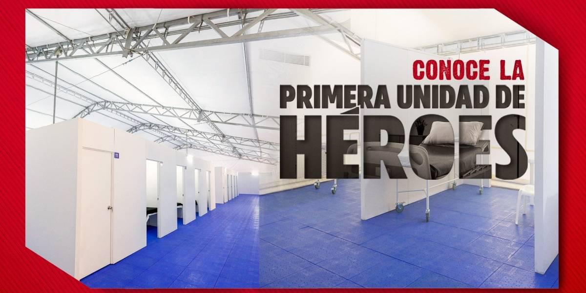 Unidad de Héroes, un espacio para los guerreros que salvan vidas en tiempo de pandemia