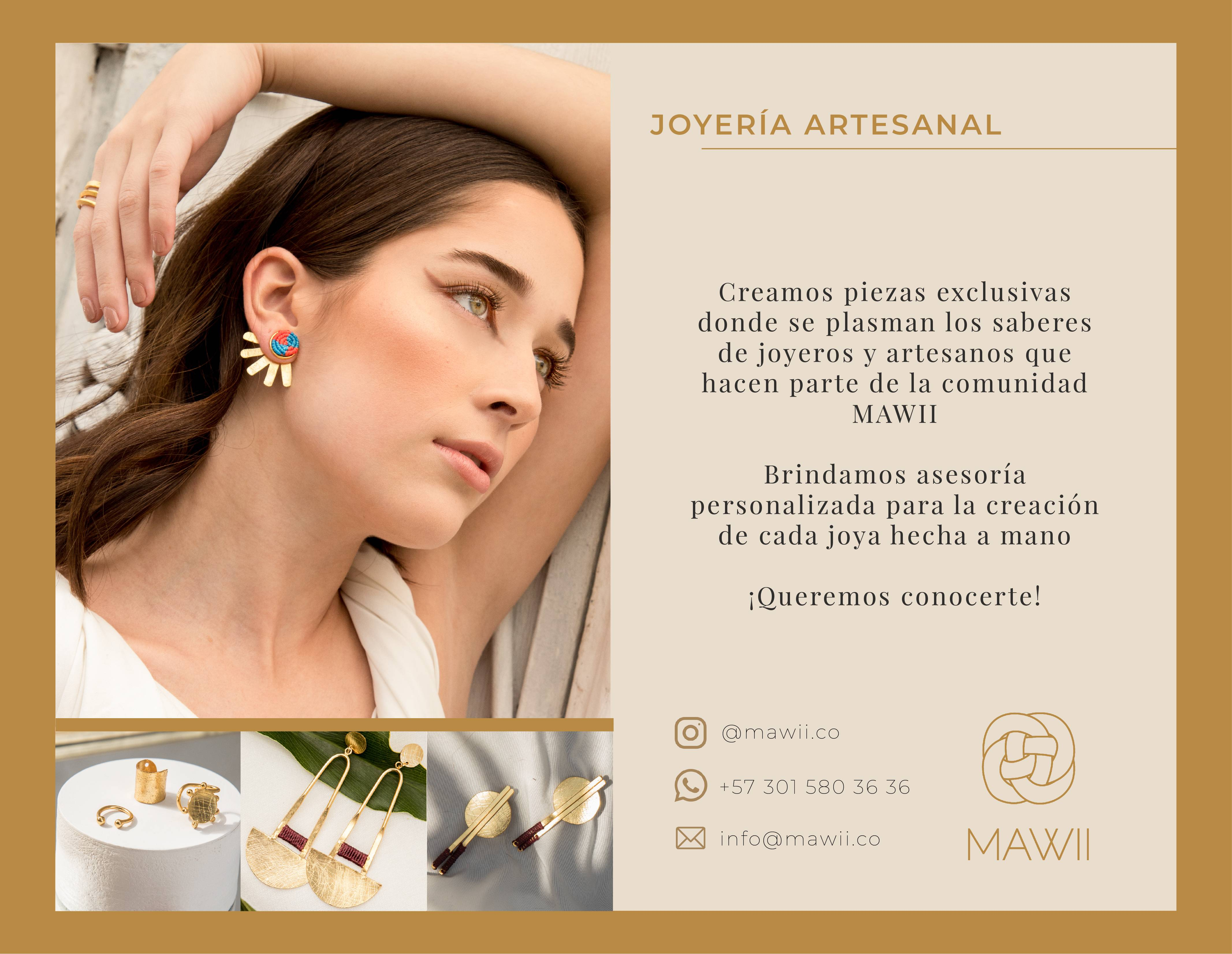 Mawii: Piezas exclusivas de joyeros y artesanos