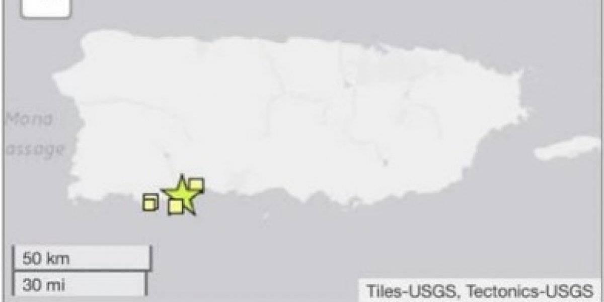 Temblor vuelve a sacudir el suroeste de Puerto Rico