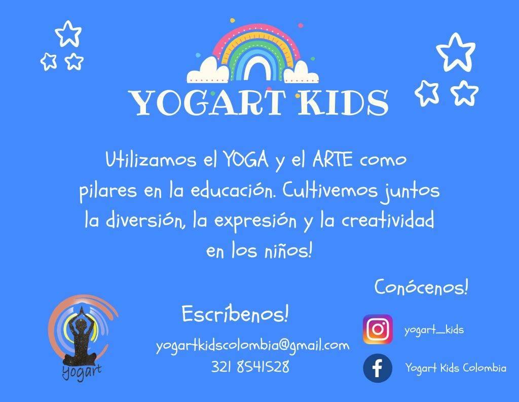 Yogart Kids: Yoga y arte para que te sientas mejor