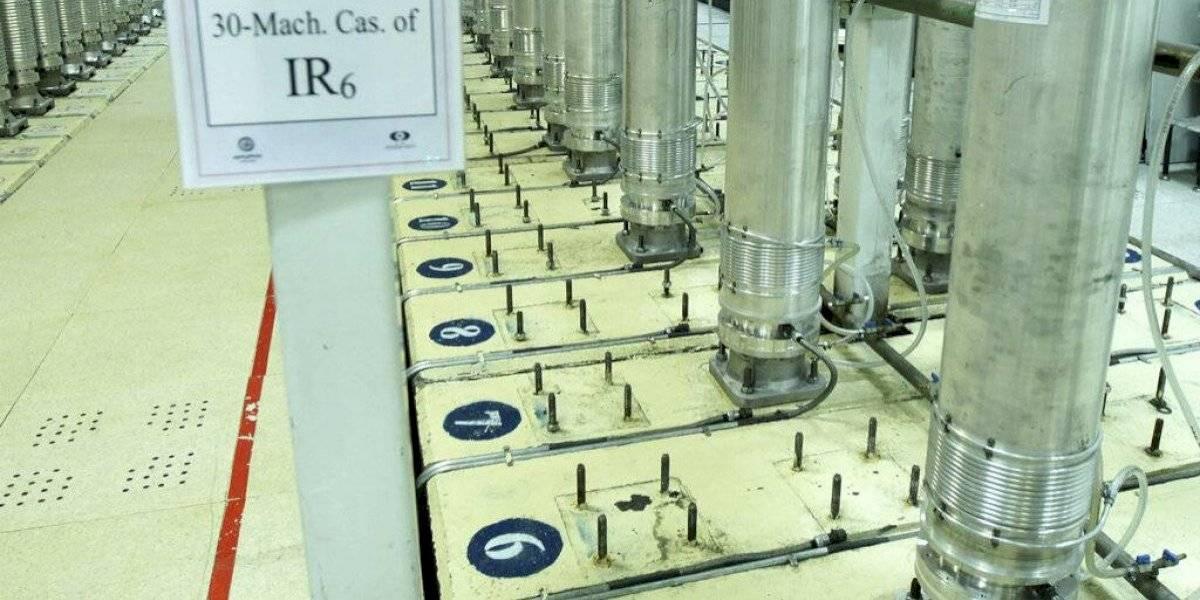 Estados Unidos reporta explosión sobre planta de uranio en Irán