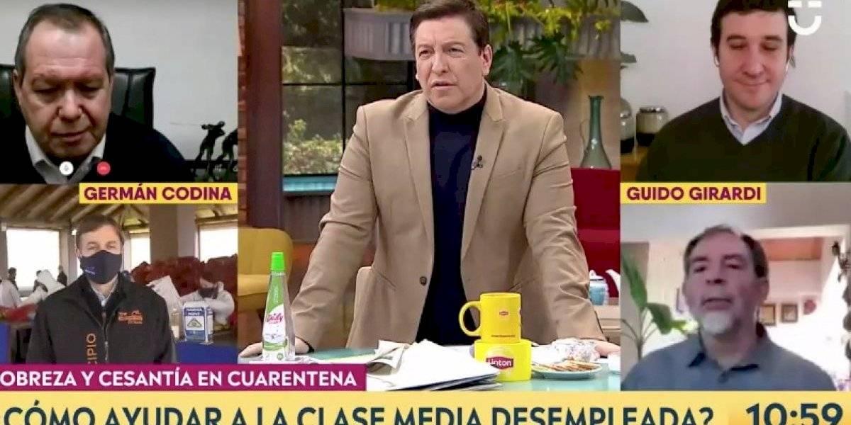 "Julio César Rodríguez se las ""cantó"" todas por intereses del CAE a Guido Girardi"
