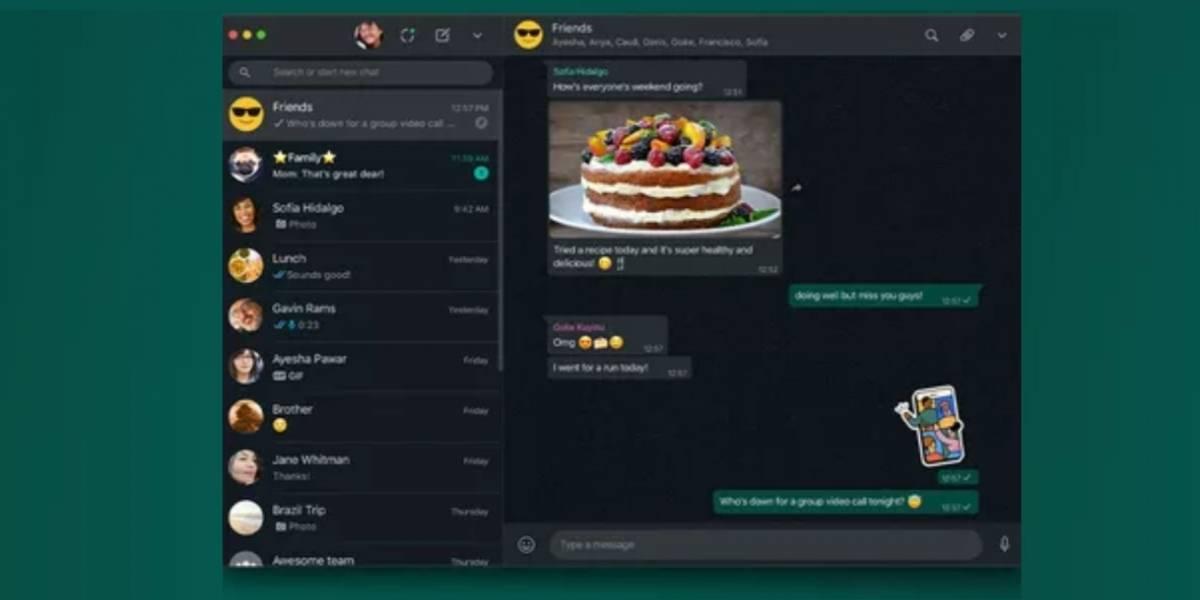 Modo escuro para WhatsApp Web já está disponível para os usuários