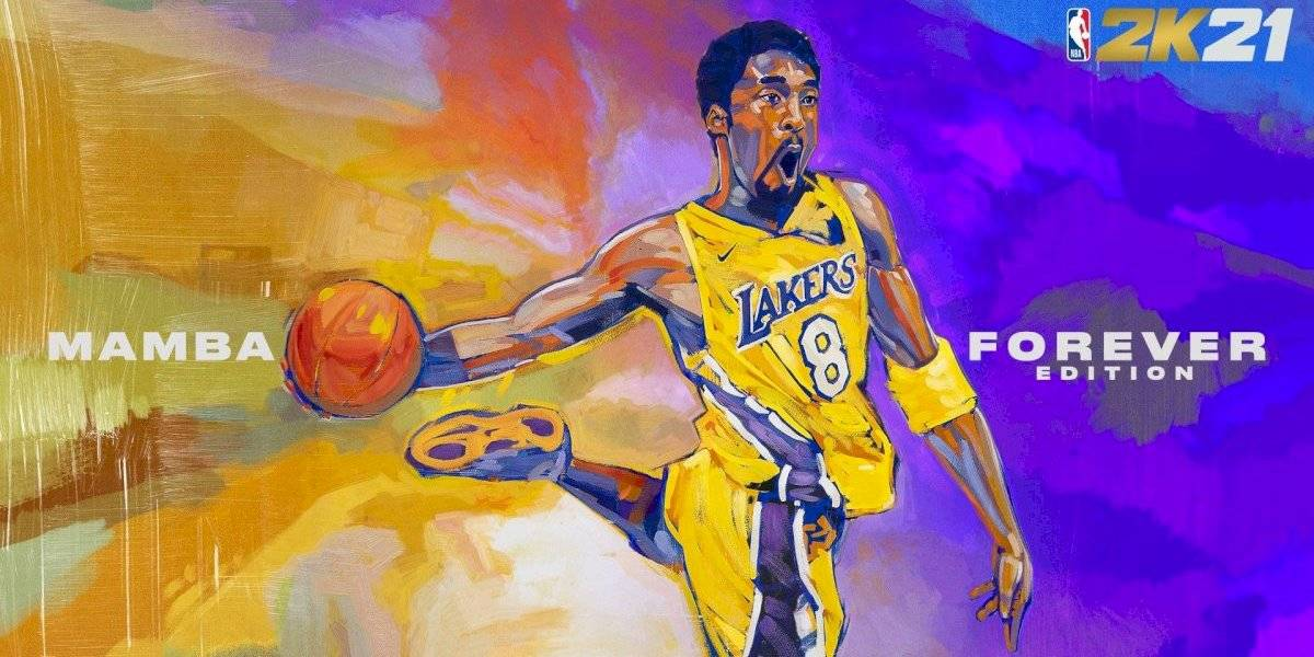 Kobe Bryant protagonizará portada de NBA 2K21