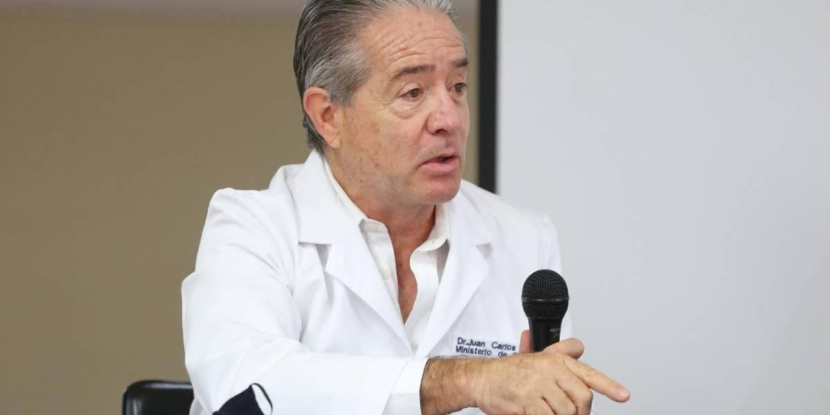 Defensor del Pueblo solicita al presidente Moreno destitución del ministro de Salud, Juan Carlos Zevallos