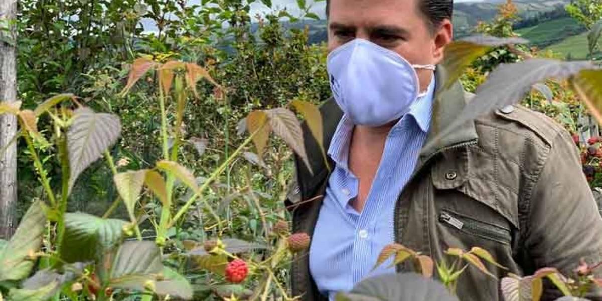 El ministro de Agricultura, Xavier Lazo, impulsa la Política Pública Agropecuaria