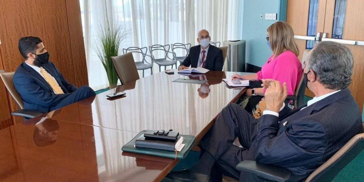 Secretario del Trabajo se reúne con exsecretarios de la Agencia