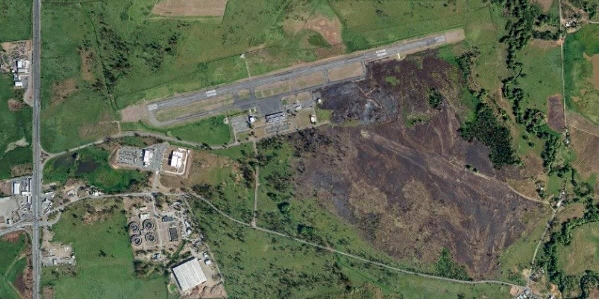 Puertos inicia mejoras a pista del aeropuerto de Mayagüez
