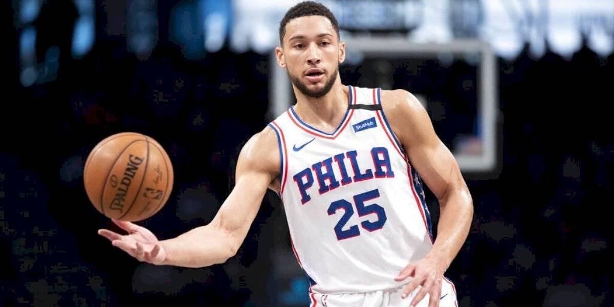 Listo Ben Simmons para su regreso con los 76ers