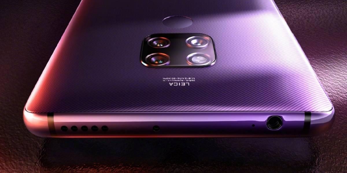 Huawei: Mate 40 podría tener las mismas bocinas estéreo del Mate 20 X