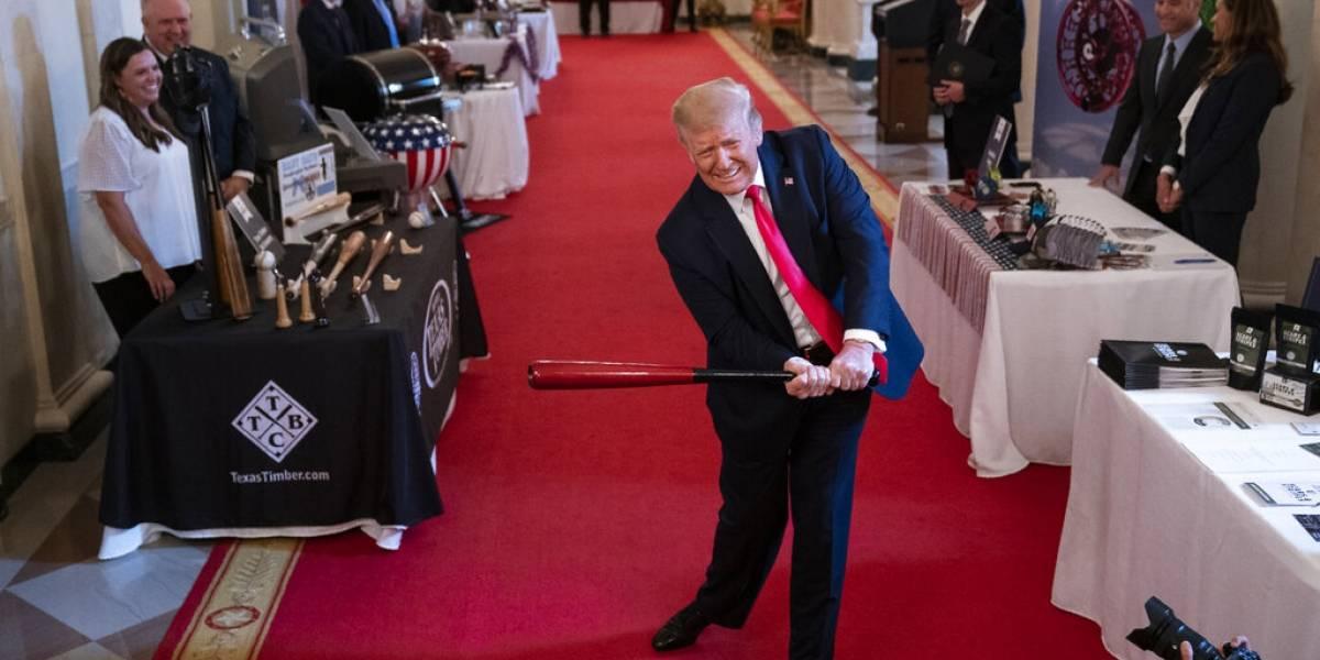 "Donald Trump pitoniso: ""El coronavirus simplemente va a desaparecer en algún momento"""