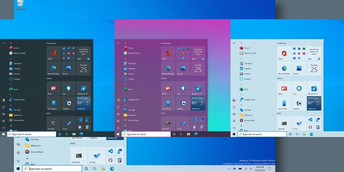 Las Live Tiles nunca mueren. Aquí te mostramos el nuevo menú de inicio de Windows 10, su barra de tareas y otras novedades del Build 20161.