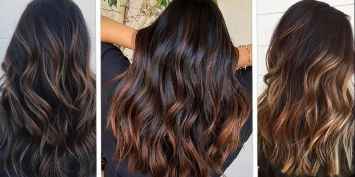 Luzes em cabelos escuros: 5 cores que são tendência nesta temporada