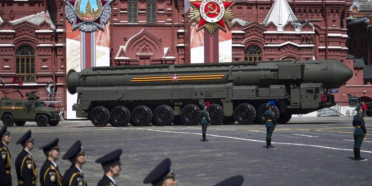 Rusia anuncia que tiene un sistema de antimisiles capaz de destruir objetivos en el espacio