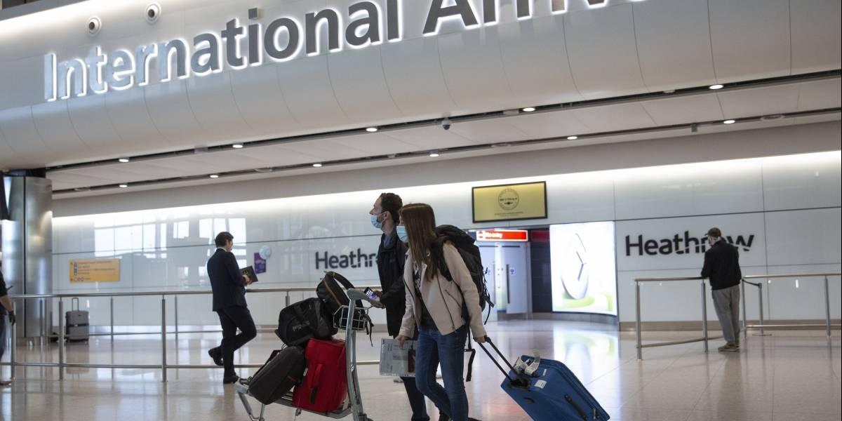 Gran Bretaña mantiene cuarentena obligatoria para viajeros de Estados Unidos