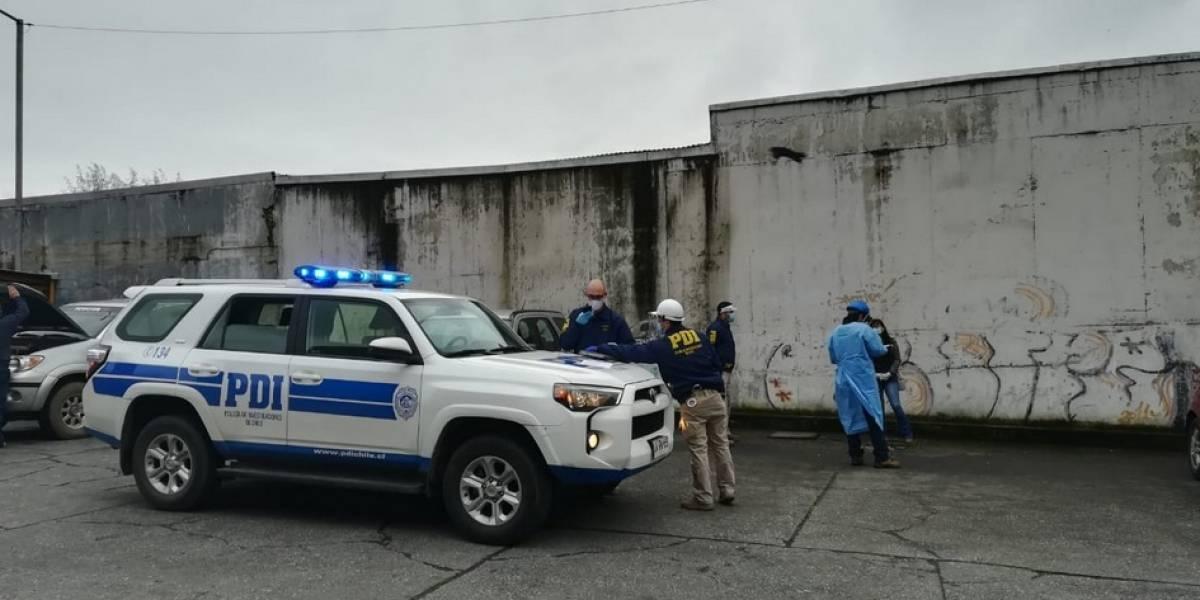 Mujer fue detenida en Concepción tras ingresar contagiada de covid-19 a un supermercado