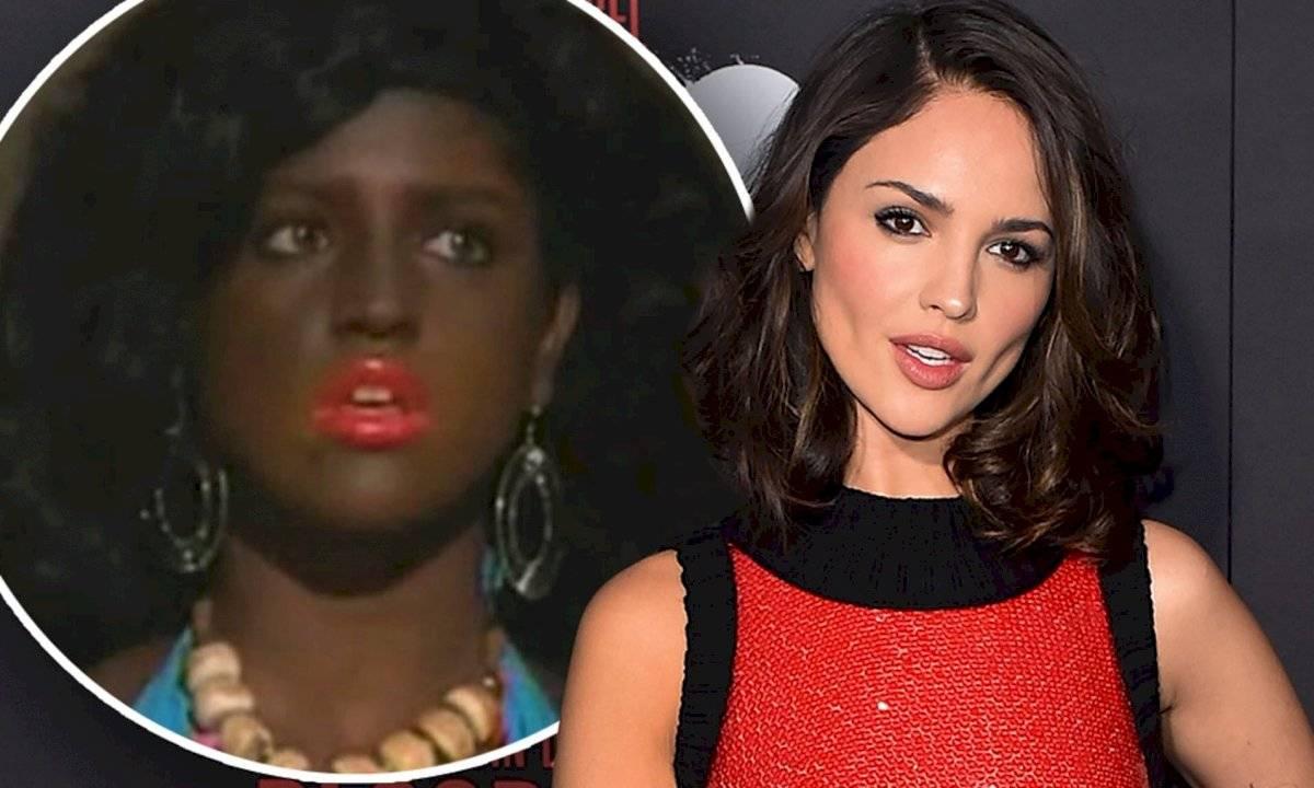"""En las últimas semanas, Eiza González ha sido acusada de racismo por un un """"blackface"""" que realizó en 'Lola, érase una vez' ."""