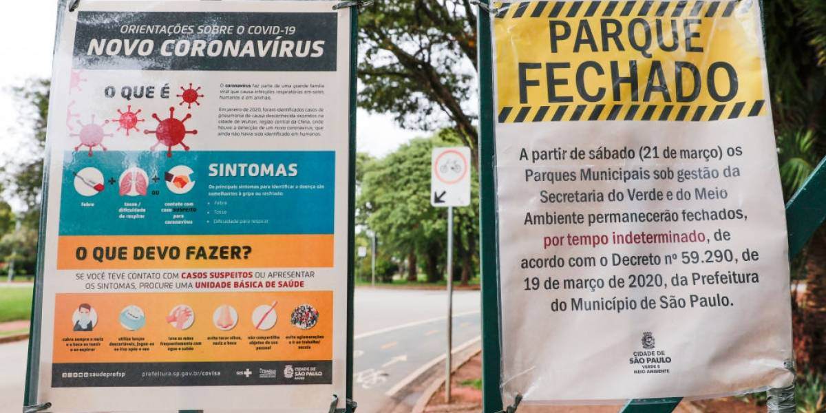 Prefeitura anuncia data de reabertura de parques de São Paulo na semana que vem