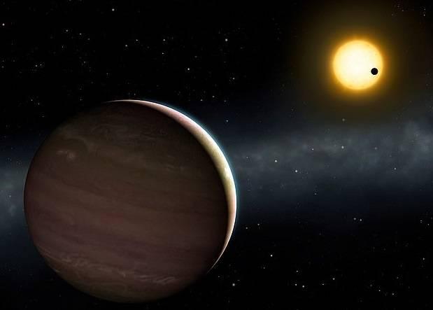 Representación de los exoplanetas