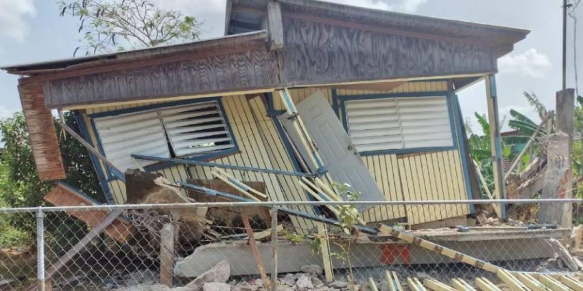 Colapsa residencia en Lajas tras sismo de 4.9 en suroeste de la isla