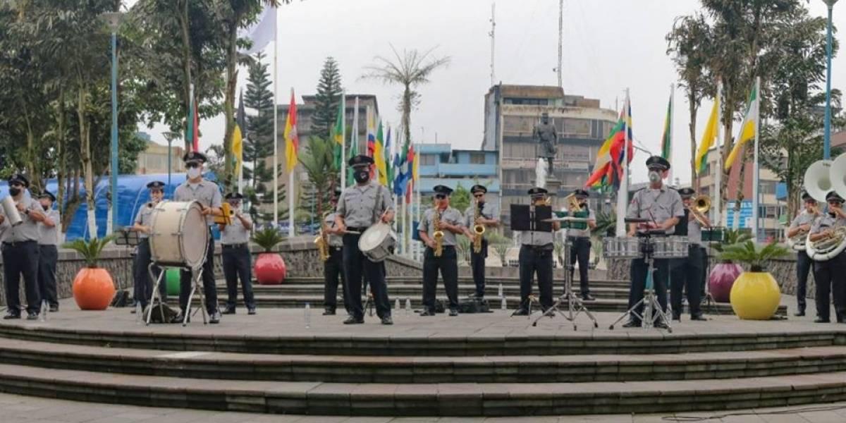 Santo Domingo conmemora sus fiestas en medio de la pandemia