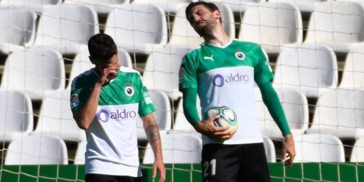 Fútbol/Segunda.- El Racing de Santander desciende a Segunda B una temporada después