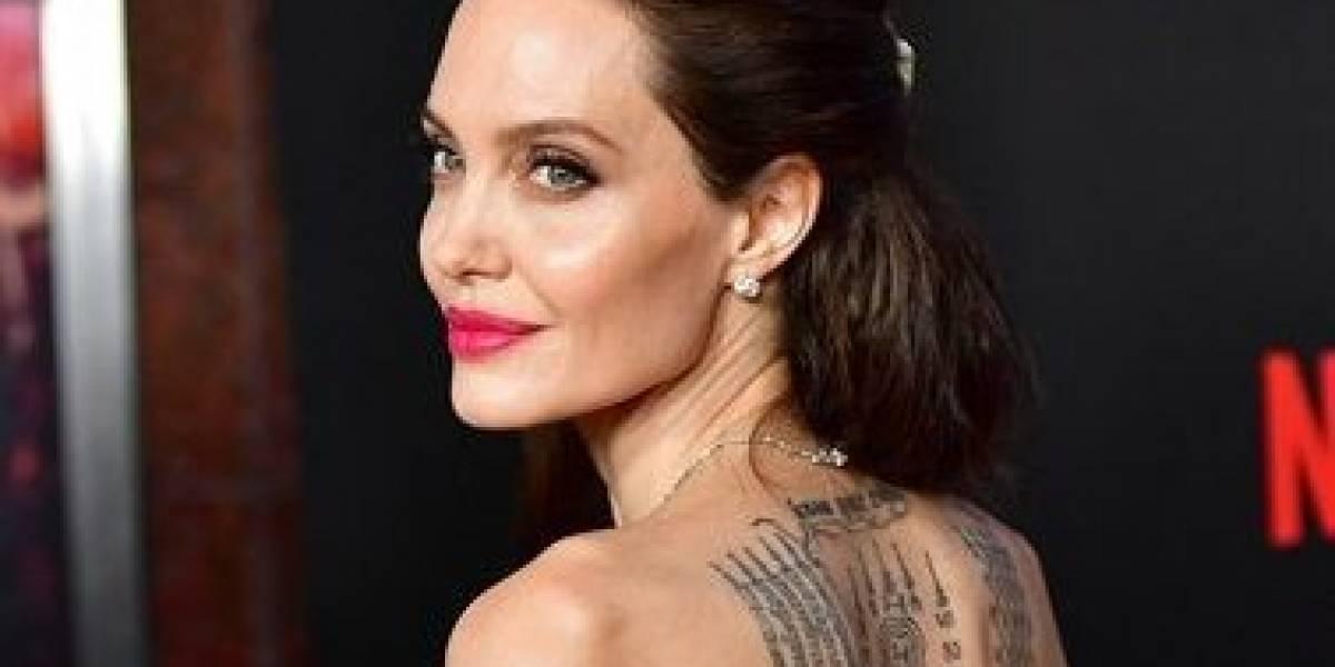 Estos son los significados de los enigmáticos tatuajes de Angelina Jolie