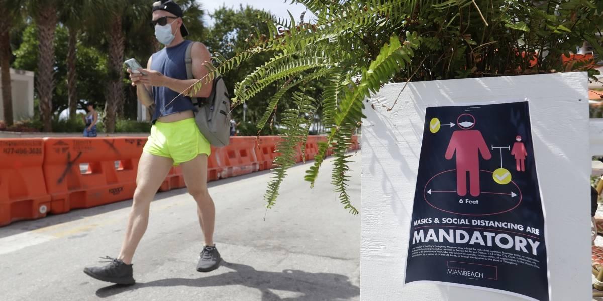 Florida registra récord de casos nuevos en un día