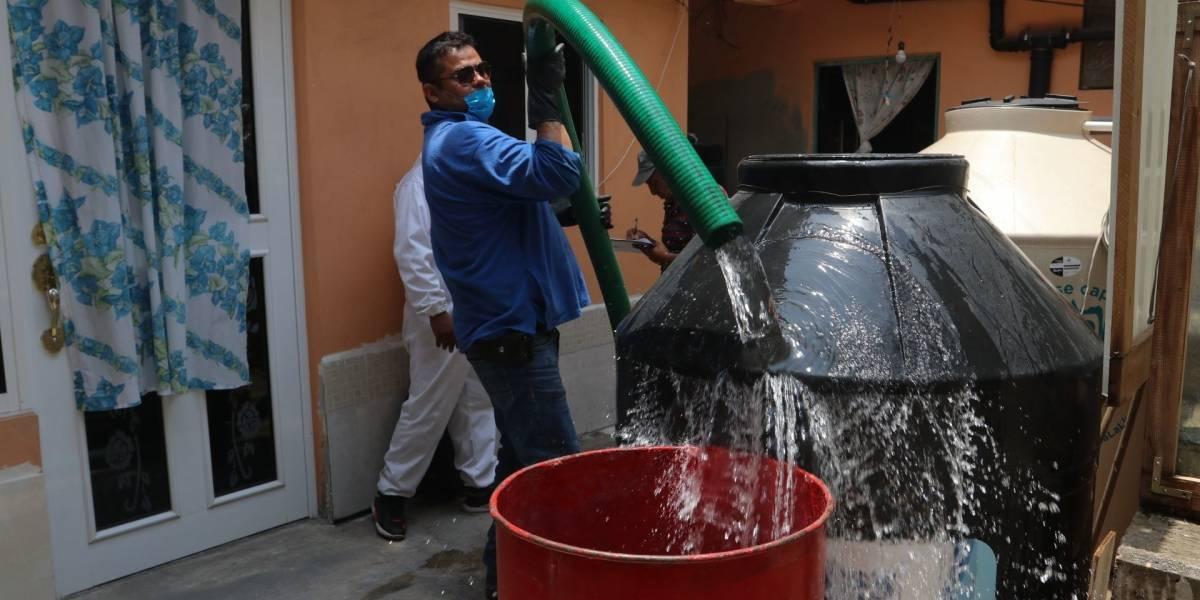 Refuerzan la distribución de agua tras corte de suministro en Edomex