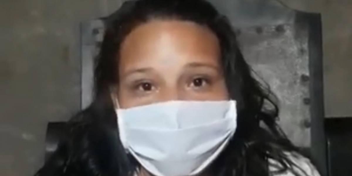 ¡Angustiante llamado! piden traslado de mujer embarazada con coronavirus en grave estado
