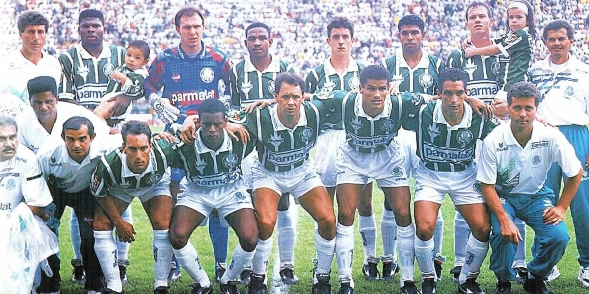Band exibe vitória do Palmeiras sobre o Corinthians na final do Campeonato Brasileiro de 1994