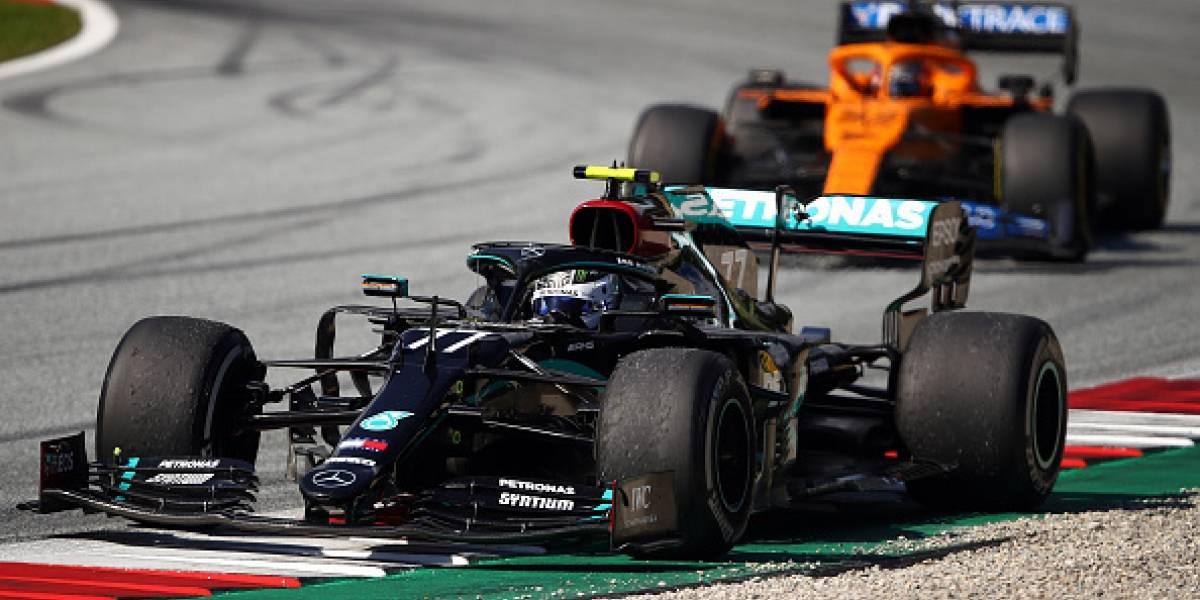 Fórmula 1: Bottas gana primer GP del año y Norris cumple sueño