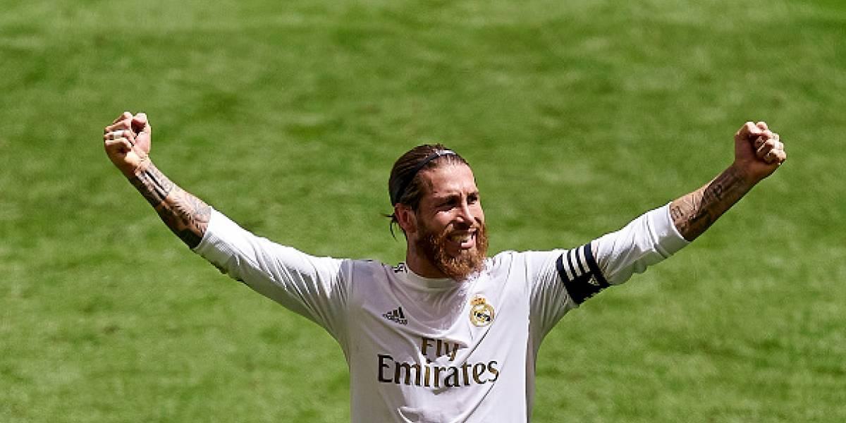 Penal de Ramos causa polémica y acerca al Real Madrid al título