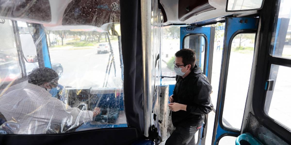 Transportistas urbanos de Quito realizarán una movilización