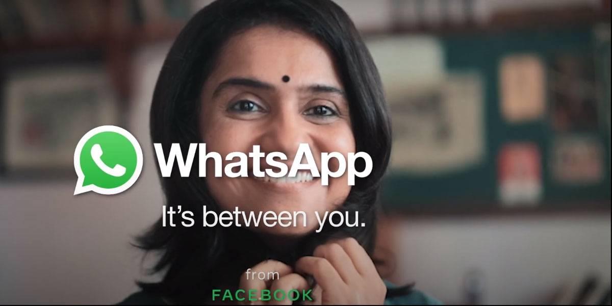 WhatsApp une fuerzas con Bollywood para lanzar campaña It's Between You