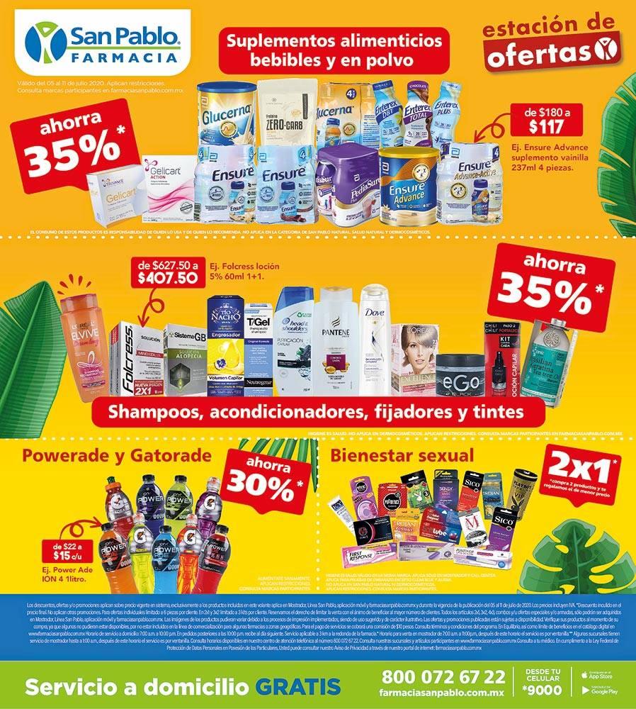 Anuncio Farmacia San Pablo edición CDMX del 6 de Julio del 2020, Página 05
