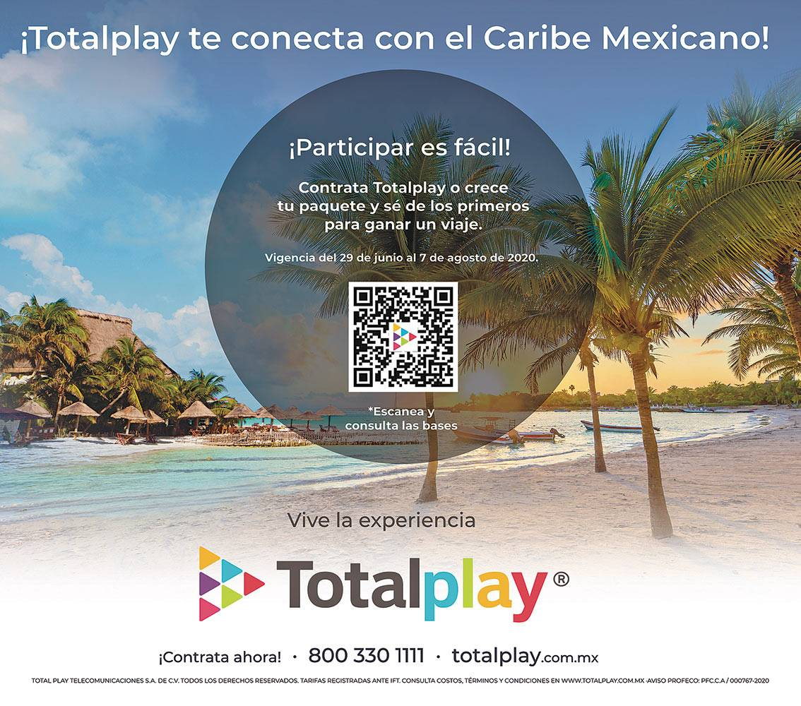 Anuncio Total Play edición CDMX del 6 de Julio del 2020, Página 07