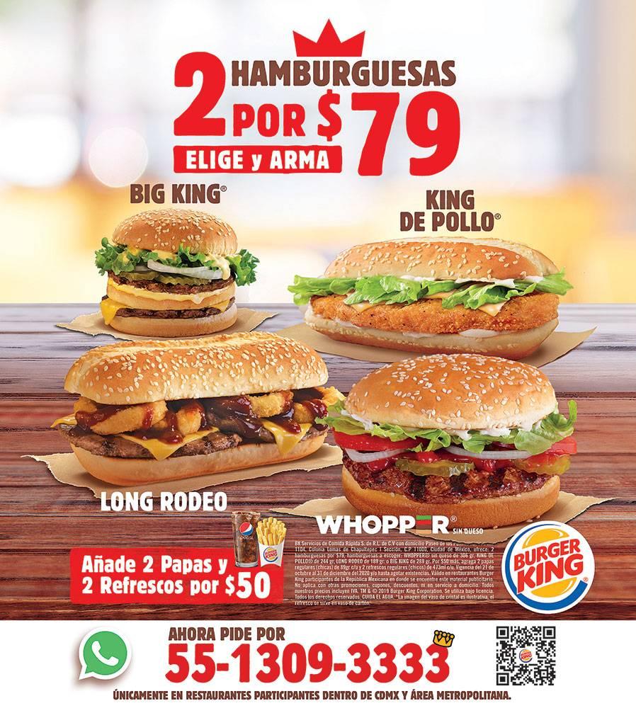 Anuncio Burger King edición CDMX del 6 de Julio del 2020, Página 15