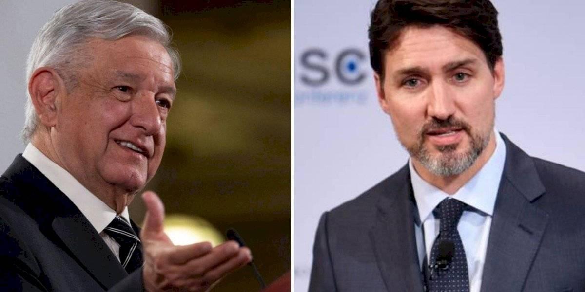 AMLO hablará con Justin Trudeau; 'el no podrá asistir al encuentro' con Trump