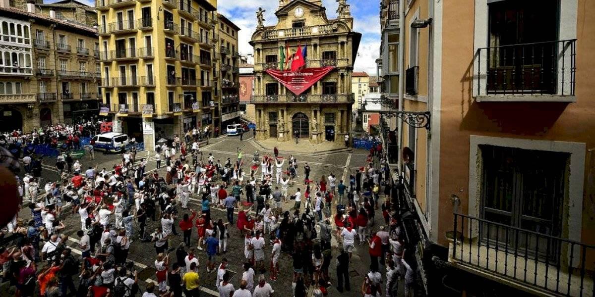 Poco lo que hay que celebrar en Pamplona sin fiesta anual de San Fermín