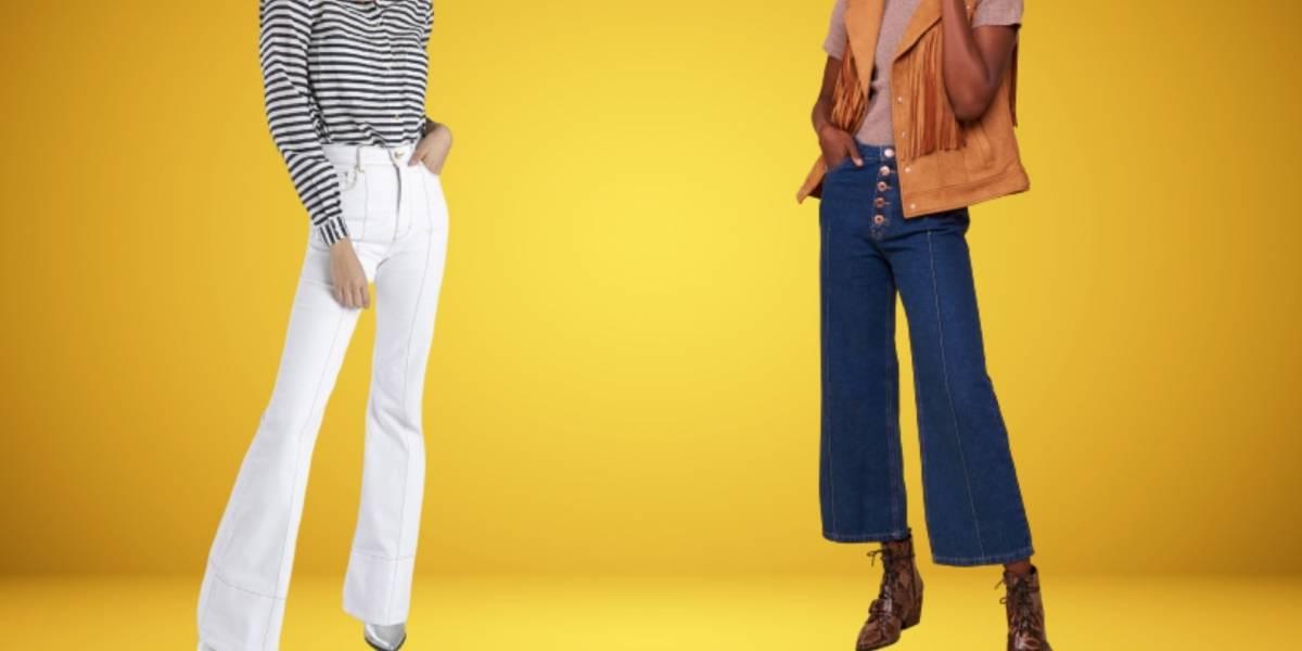 A calça boca de sino está de volta - e é assim que veste em 2020!