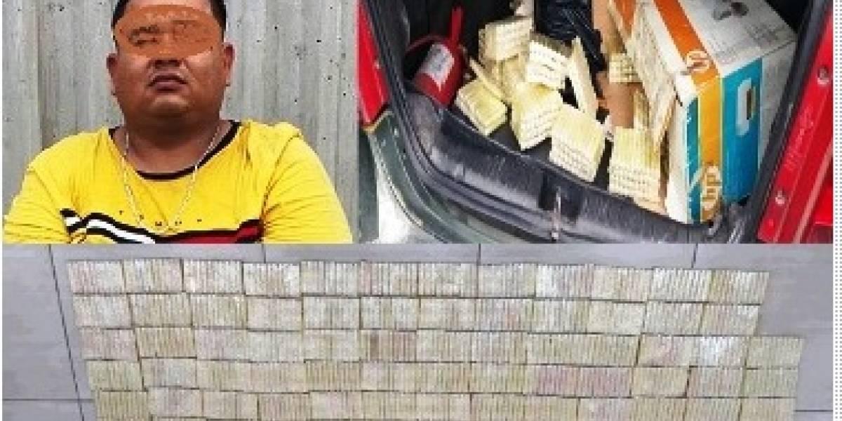 Vehículo circulaba con 15 kilos de cocaína por La Puntilla