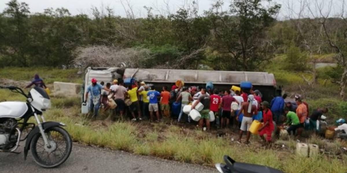 Videos revelan magnitud de accidente en la Troncal del Caribe por imprudencia de la gente